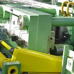 25.000 kN straightening press for steel bars