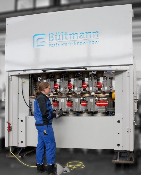 Bültmann 10-roll straightening machine