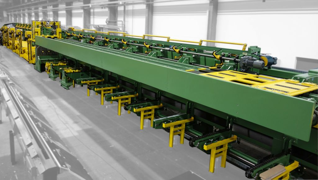 Tube production line, type RPL 050